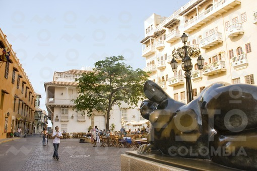 Plaza de Santo Domingo, Cartagena / Santo Domingo Square, Cartagena