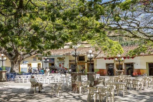 Parque principal de Ciudad Bolivar,Antioquia / Main Park Ciudad Bolivar,Antioquia