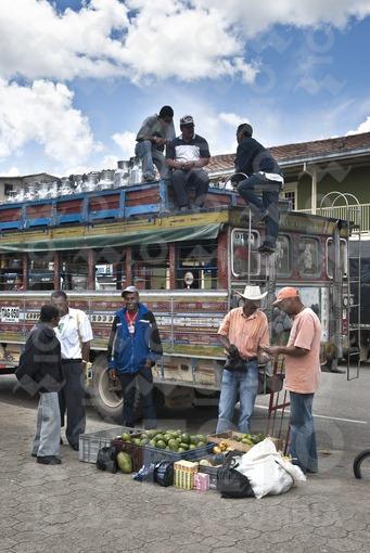 Camión de Escalera,Santa Rosa de Osos,Antioquia/ Ladder Truck, Santa Rosa de Osos, Antioquia