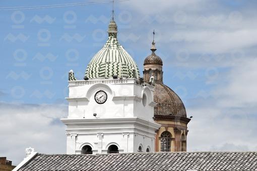 Cúpulas Iglesia San Juan y Catedral de Pasto,Nariñ