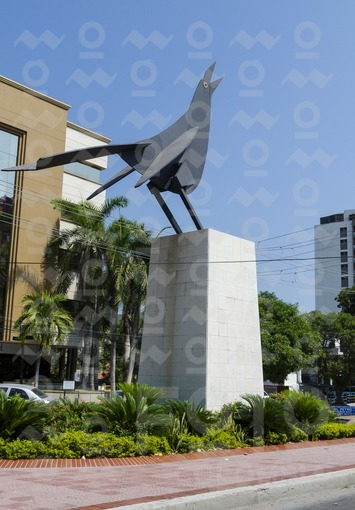 Escultura La María Mulata,Barranquilla / Sculpture La María Mulata,Barranquilla