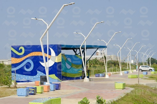 Malecón Turístico León Caridi,Barranquilla / Malecon Tourist León Caridi,Barranquilla