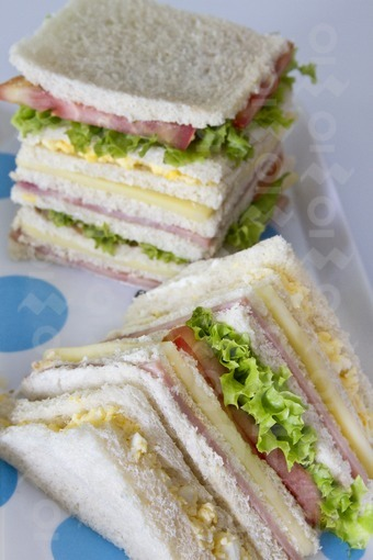 Sandich de pan de Miga / Bread Crumbs Sandwich