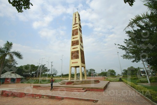 Obelisco,Alto de Menegua,Puerto López,Meta, Llanos Orientales / Obelisk,Menegua Hill,Puerto Lopez,Meta,the eastern plains