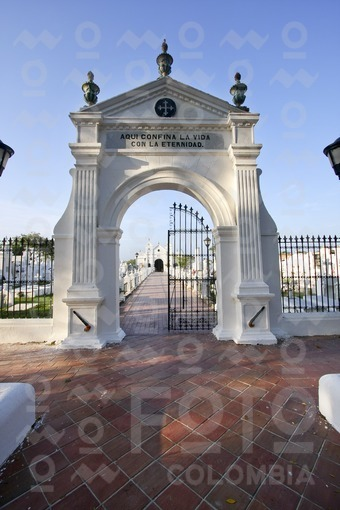 Cementerio de Santa Cruz de Mompox,Bolivar / Santa Cruz Cemetery,Mompox,Bolivar