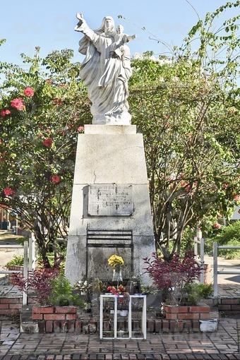 Monumento a la virgen del Carmen,Arauca / Monument to the Virgin del Carmen,Arauca
