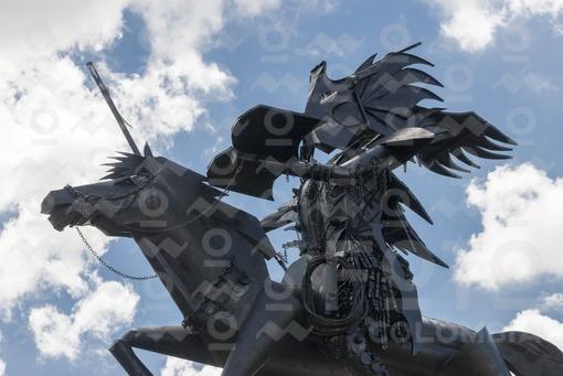 Monumento al Cachacero,Parque San Martín,Meta / Cachacero Monumnet,San Martín Park,Meta