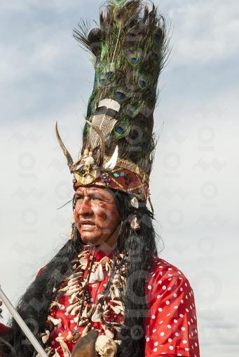 Cuadrilla de los indios o Guahibos,Fiestas de San Martín,Meta / Crew of Indians or Guahibos,Festival of San Martín,Meta