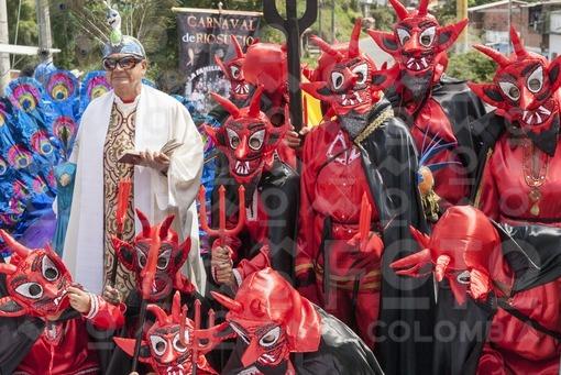 Desfile de Colonias,Carnaval de Riosucio,Caldas / Colonies Parade,Ríosucio Carnival,Caldas