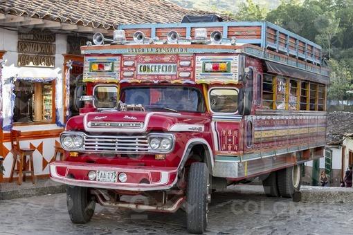 Camión de escalera,Concepción,Antioquia / Ladder truck,Concepcion,Antioquia