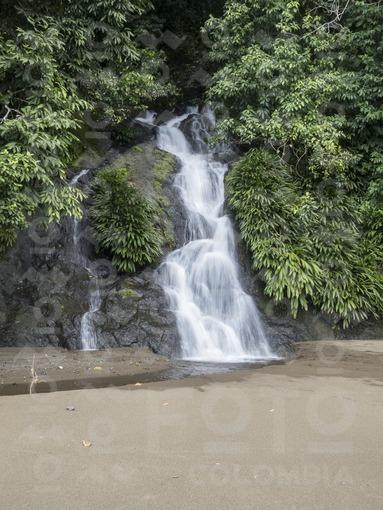 Cascada del Tigre,Bahía Solano,Chocó / Tiger waterfall,Bahía Solano,Choco