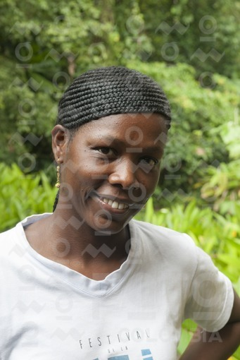 Mujer Chocoana,Nuquí,Chocó / Chocoan Woman,NUqui,Choco
