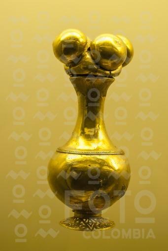 Poporo,Museo del Oro,Quimbaya,Armenia,Quindio / Poporo,Gold Museum,Quimbaya,Armenia,Quindio