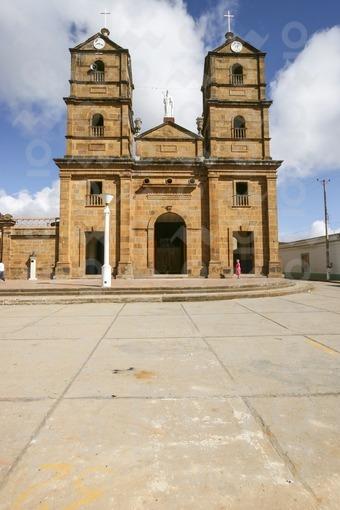 Iglesia de San Joaquín,Zapatoca,Santander / Church of San Joaquin,Zapatoca,Santander