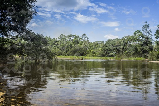 rio  Wisia Putumayo Colombia