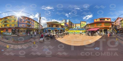 Plazoleta de los Zócalos Guatapé - 360 grados
